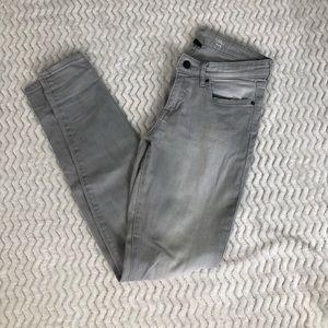 Light Gray Gap Denim Legging